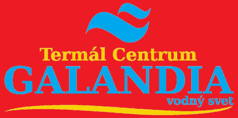 Logo Galandia - cervene